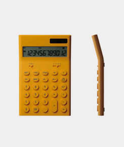 Electronic Calculator- Yellow