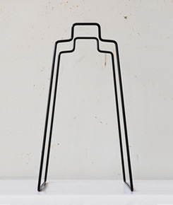 Helsinki Paper Bag Holder - Black