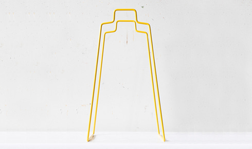 Helsinki Paper Bag Holder - Yellow